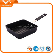 Carbon steel fry pan non stick grill pan korea bbq pan
