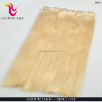 Direct Hair Factory No Tangle No Shed Dyeable Remy Hair Color 613