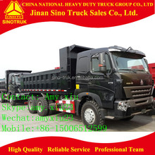 HOWO A7 10 wheelers 6x4 dump truck / tipper truck / dumper / tipeer for sale