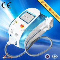 2015 new arrival portable salon home use 808 diode laser permanent hair removal face