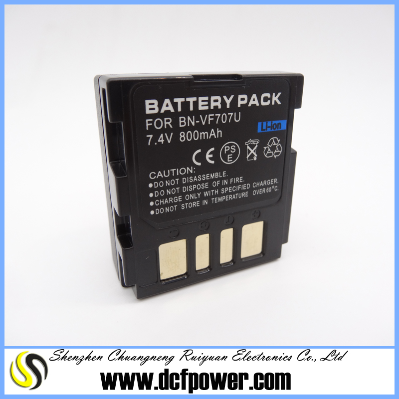 for BN-VF707 VF707 100% fully decoded Digital camcorder battery