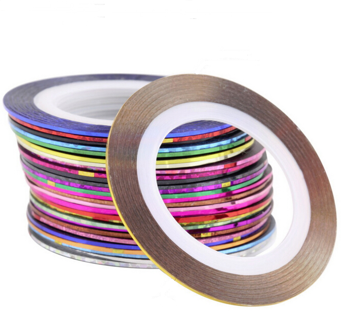 BIN Decoration Nail Art Striping Tape <strong>Beauty</strong> 2D Sticker