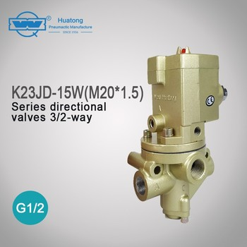 k23jd-15w M20*1.5 3/2-ways near zero leakage stable performance directional valve