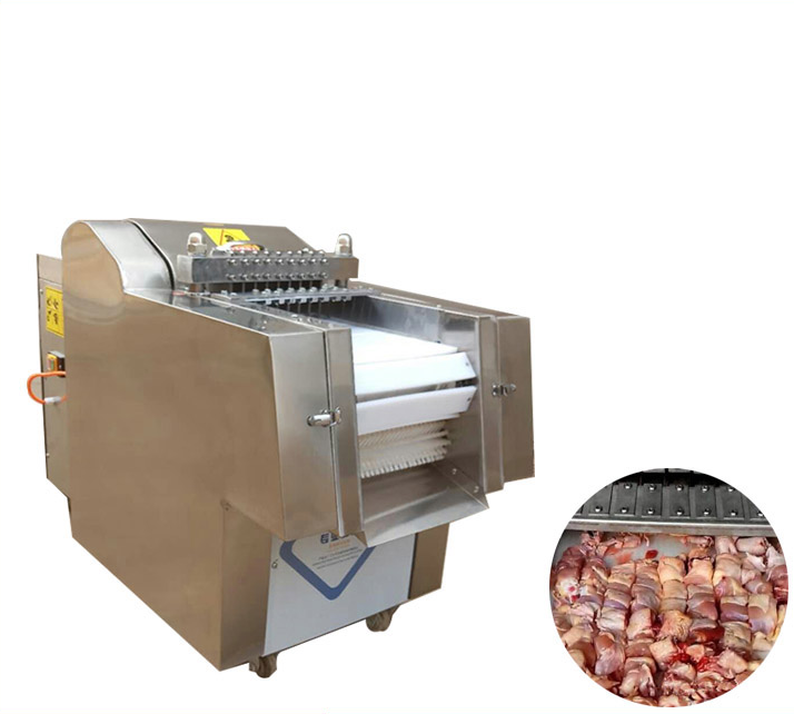 Whole Stainless Steel Cut Chicken Food Machine Widely Used In