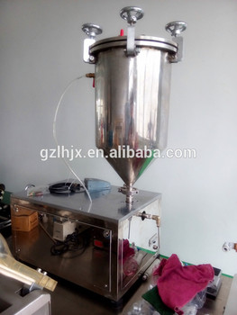 small Mascara filling machine, eye black filling machine,promotional mascara cream filling machine