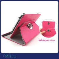 Shenzhen Crazy Horse Leather 360 degree Rotary Universal Tabler Case 7inch 8inch 9inch 10.1inch