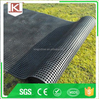 Anti Slip Black Rubber Mat Roll
