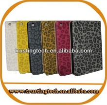 Fashionable Flip leather leopard case for 7 inch tablet pc