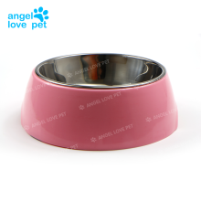 Pet Stainless Steel Color Dog Food Bowl