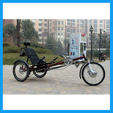 Delta style electric recumbent trike sale