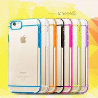 New TPU +PC Case for iphone 6, Soft TPU+PC back cover for iphone 6 for iphone 6 case cover