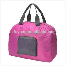 factory wholesale foldable ladies overnight bag