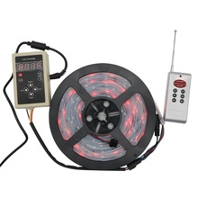 100m 150LED IP67 Waterproof 6803 IC SMD 5050 RGB Dream Magic Color LED Strip 133 Program RF Controller