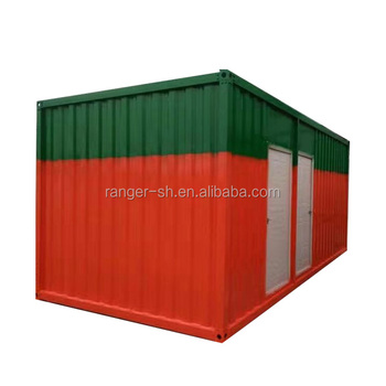Flat Pack Shipping Movable Potable House / livable shipping container house