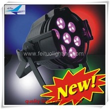 Disco party 7x10w 4 in 1 10w rgbw led par light or 10w led par light rgbw
