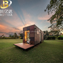design steel structure 20ft high cube container house / prefabricated house