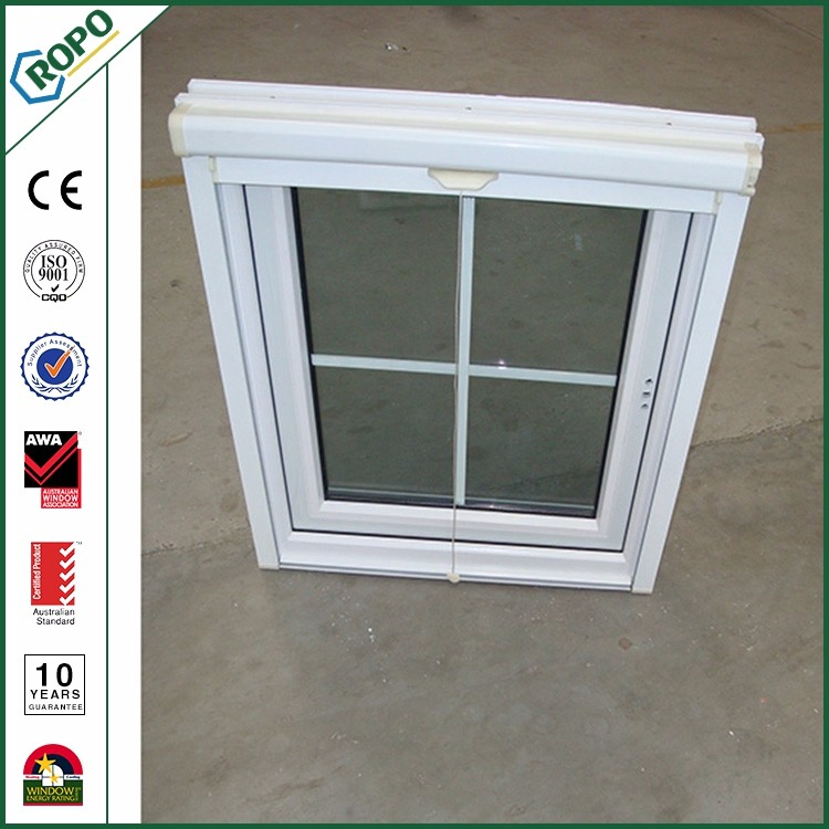 Design decoration interior casement glass window grill sample