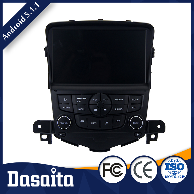 8 Inch 2 din Black screen RK3188 Android 1GB DDR3 car gps dvd player OEM for Chevrolet Cruze 2008 2011