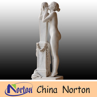 garden sculpture polishing marble nude female statue NTMS0528R