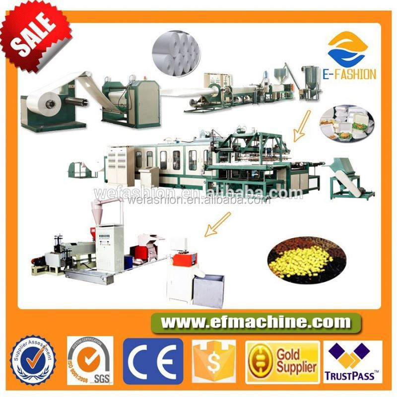 Automatic Disposable Foam Plates/Dishes Making Machine