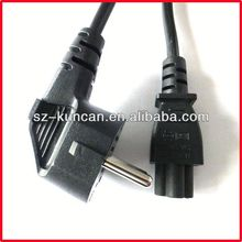 korea power cord with ks plug keti approved KC approved power supply plug for home appliance/laptop