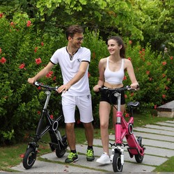 Smart mini folding electric bike X1 , mini electric pocket bike for sale , 10inch folding bike