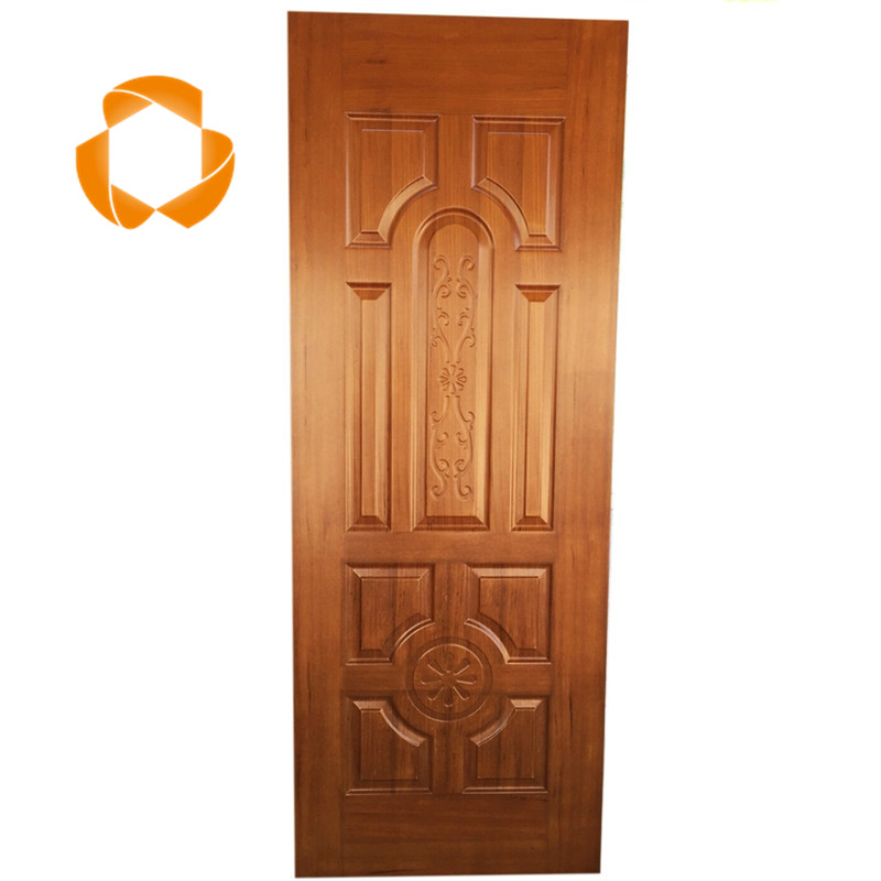 china supplier wood veneer mdf board door skin price for furniture