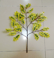 decorative artificial oak tree leaves