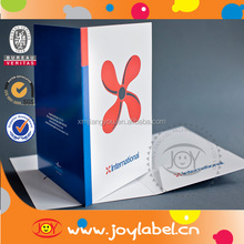 Top quality art paper A4 Presentation Folders for promotion