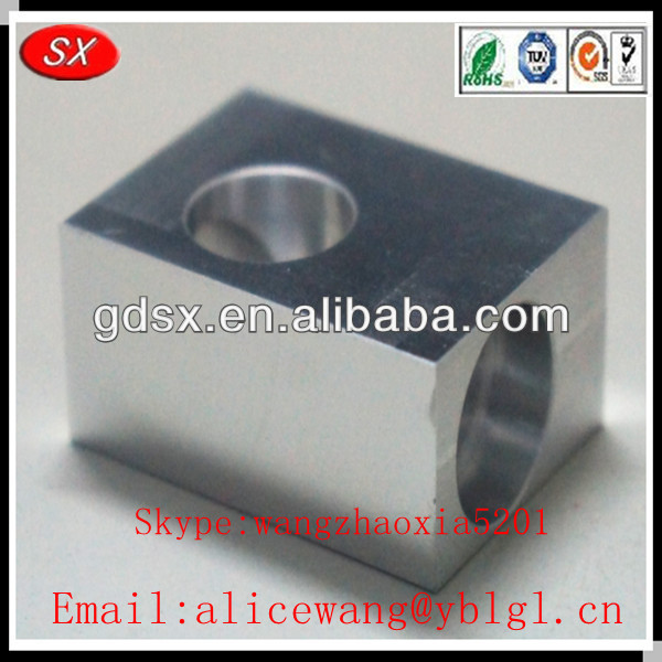 cnc mechanical machine part/small order cnc parts/cnc aluminum polishing machine parts in Dongguan,ISO9001 passed