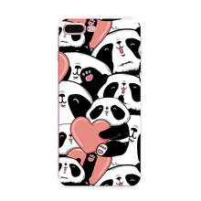 Dropshipping Cute 3D Sublimation Soft Silicone Animal Panda Phone Case for iPhone6/iPhone7 For iphone 5s 5se