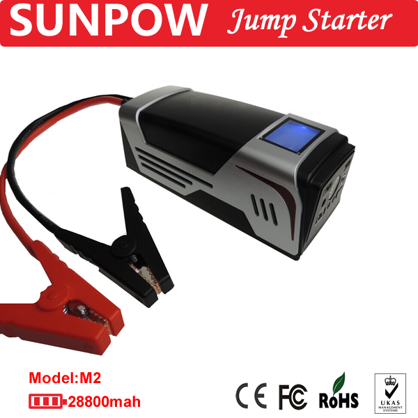 SUNPOW Multi-function car jump starter emergency tool kit