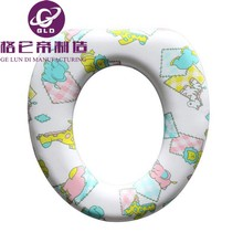 GLD Plastic Square Baby Toilet Seats Cover For Kids Blue wc toilet lid