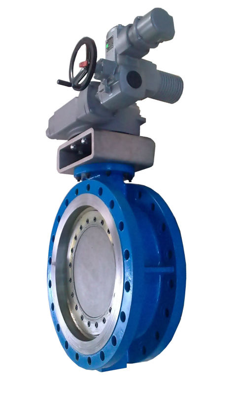 Electric Butterfly Valve with AUMA actuator