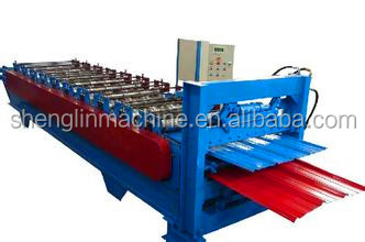 High Speed Double Layer Roll Forming Machine for corrugated and IBR profile/double layer roofing sheet making machine