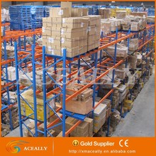 FEM standard Roll Formed Steel Selective Pallet Rack for heavy duty goods storage asrs rack