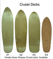 China factory cheap cruiser skateboards for sale