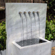 New design outdoor or indoor modern artificial stone waterfall fountain