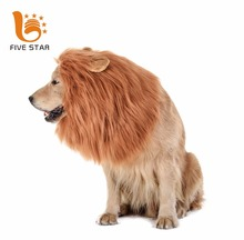 Five Star Pet Costume Medium and Large Dog Lion Mane with Wig