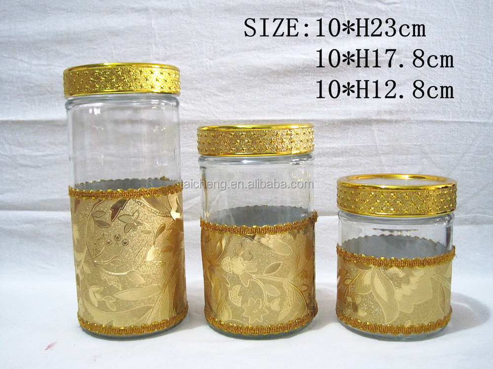 Food storage tank/glass sealed cans/nuts/sauce pot