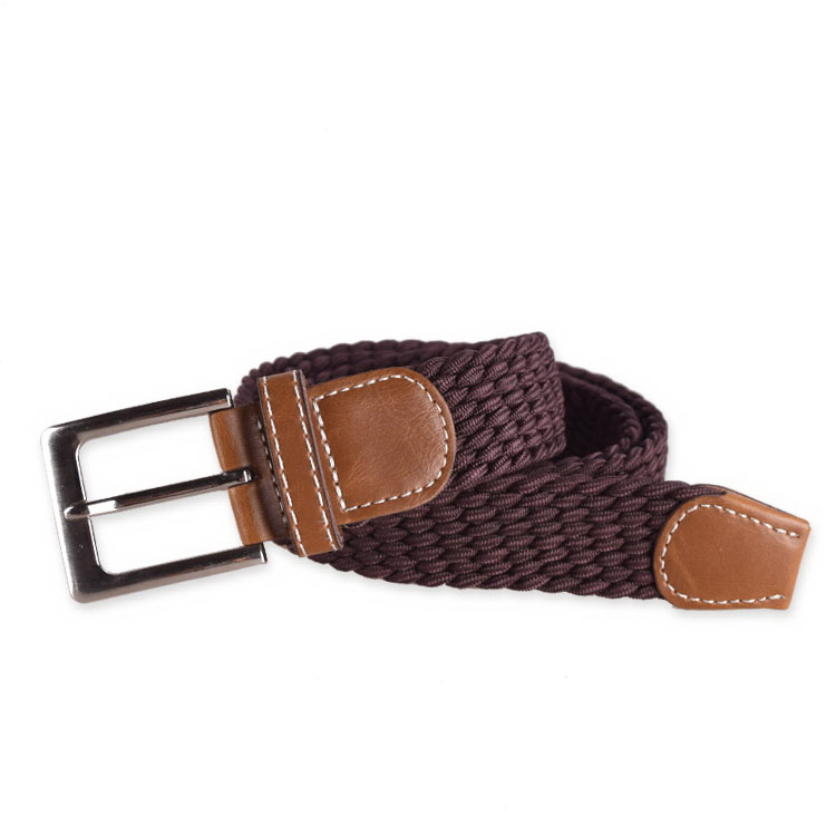 High quality hot sell elastic belt with plastic buckle
