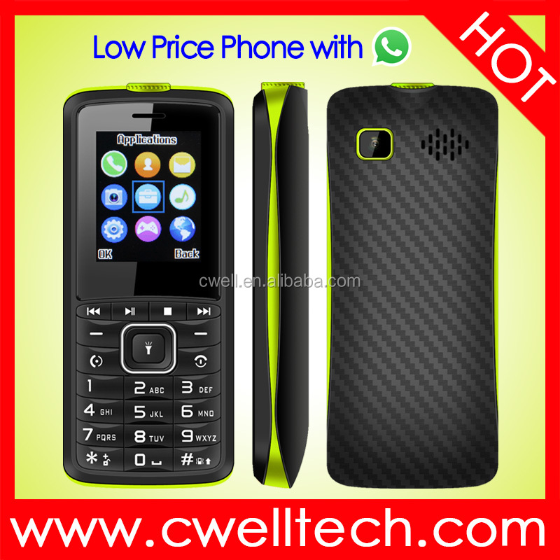 ECON Z36 1.77 inch Screen Big Battery Low Price China Mobile Phone with Whatsapp