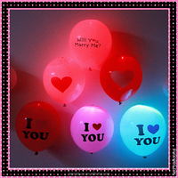 Flashing LED Light Balloons Party Decoration
