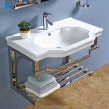 Top quality simple design bathroom vanity 866