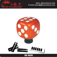 red dice gift novelty gear shift knobs for lady