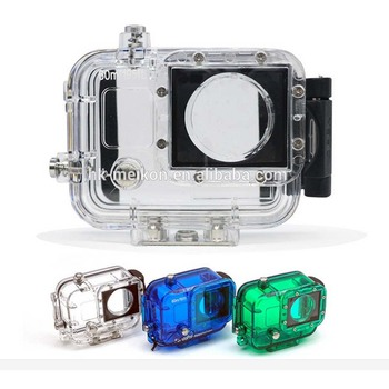 60m/195ft diving waterproof case for Gopro hero 3/4