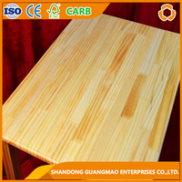cheaper pine wood finger joint laminated board for Stair railing
