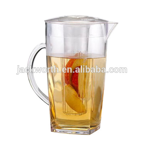 Acrylic Fruit Infusion Flavor Pitcher