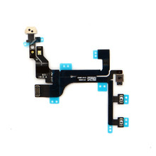 Wholesale power flex spare parts for iphone 5C on-off flex cable