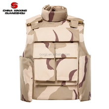 Desert Camo NIJ IIIA standard vest bulletproof with soft bulletproof panel